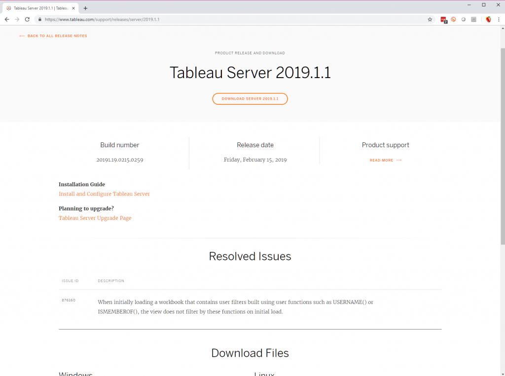 Installing Tableau Server on Linux (Ubuntu LTS 16 04